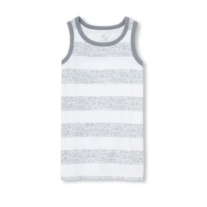 NWT Children's Place Fin Gray Tank Top M(7/8)